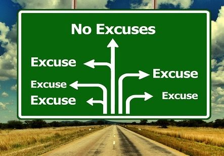 Build trust and stop giving excuses