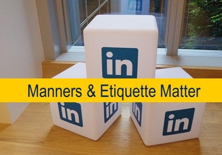 LinkedIN manners