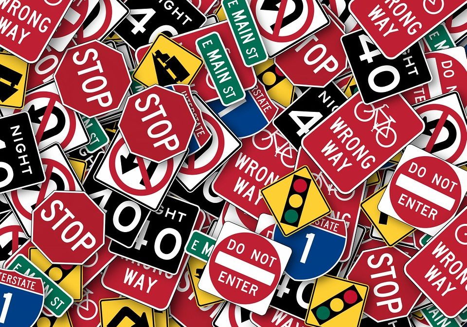 Lots of Stop Signs